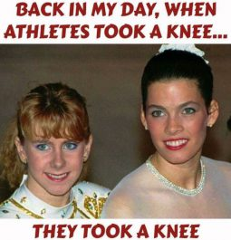 Back In My Day When Athletes Took A Knee...